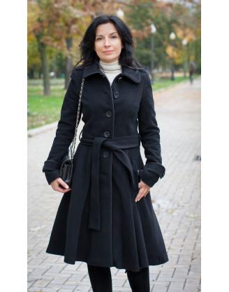 Пальто Stella Di Mare 70308-black