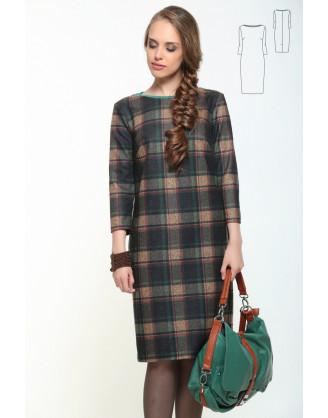Платье Bravissimo 162556-серо-зеленый