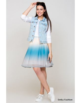 Юбка Emka Fashion 322-aprika
