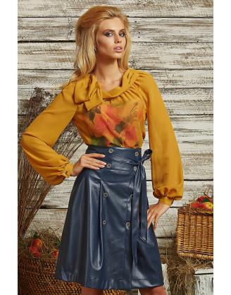 Блуза Art Ribbon M2212Т5002-gorchica