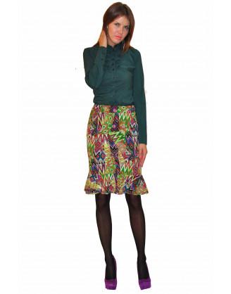 Блуза TAU KITA 382-zelen