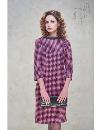 Платье Bravissimo 162531-розово-черный