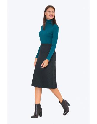 Юбка Emka Fashion S726-slate